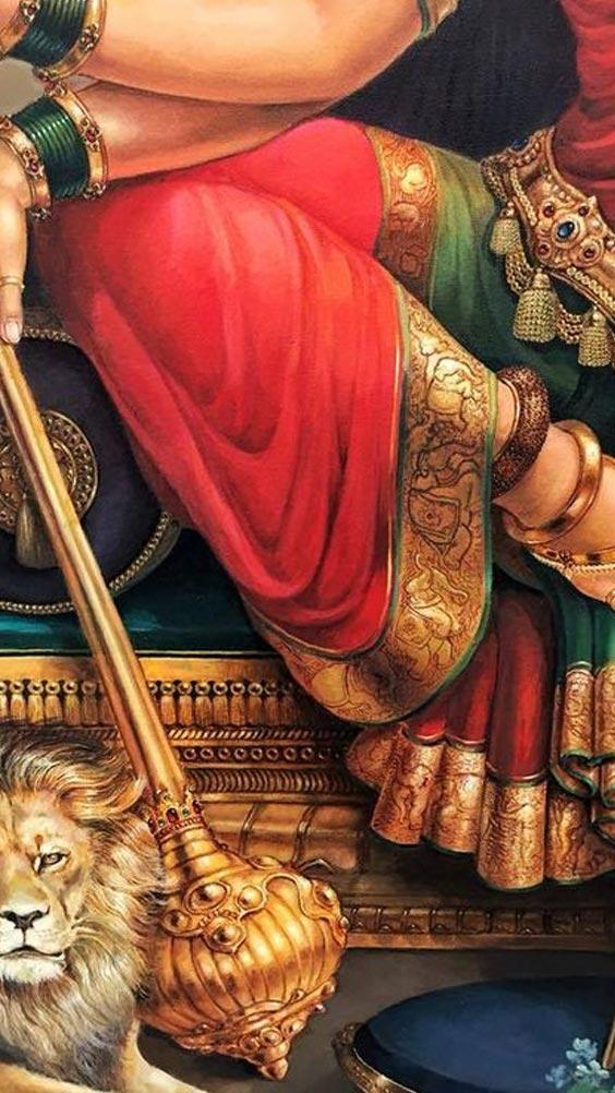 Photo Durga mata di. Image of Durga puja.