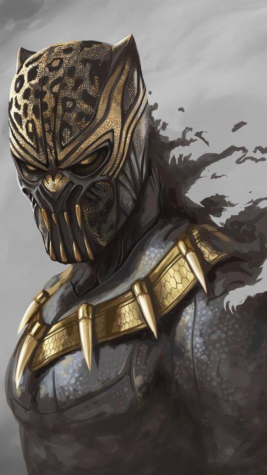 Black Panther Erik Killmonger2 Wallpaper