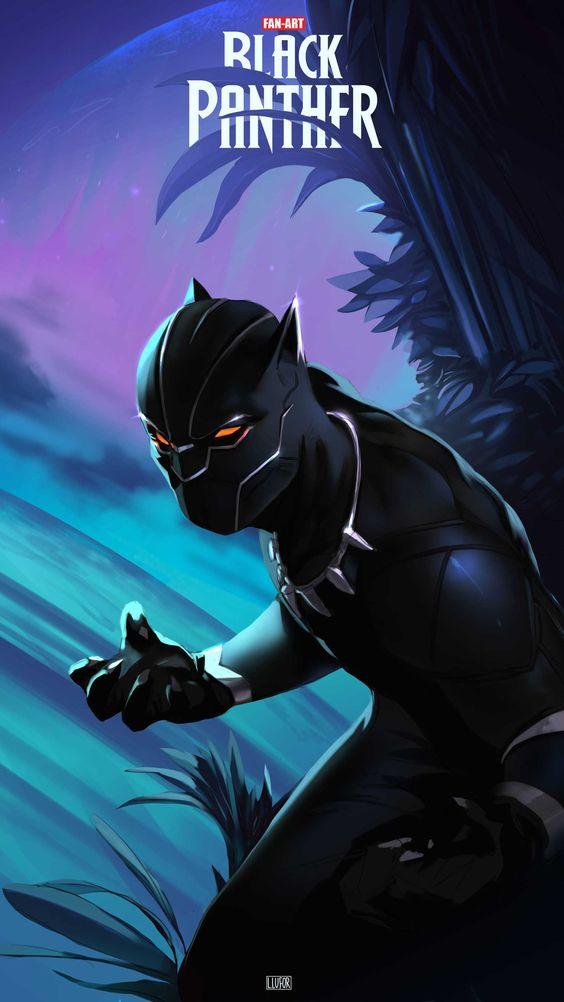 Black Panther Fan Art Wallpaper
