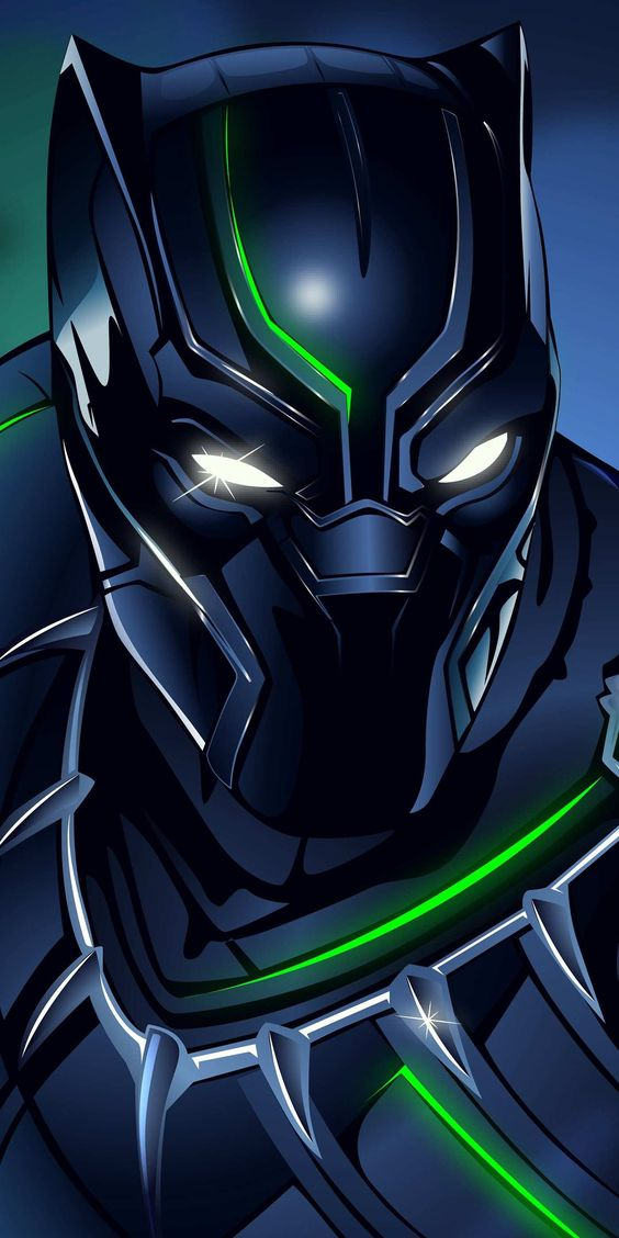 Black Panther Real Suit Wallpaper