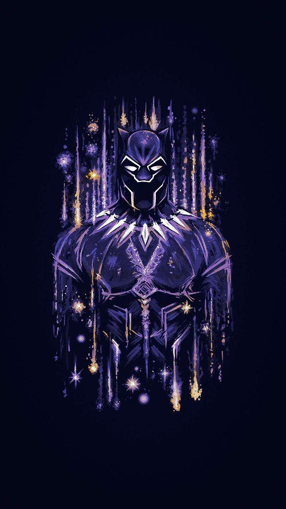 Black Panther Wakanda Artwork Wallpaper