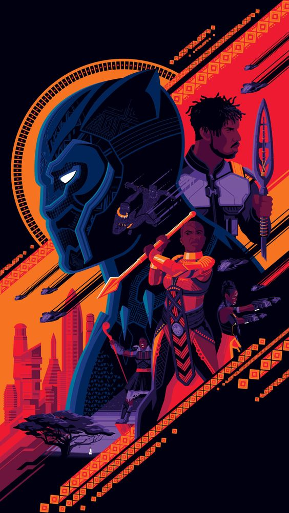 Black panther Wakanda Wallpaper