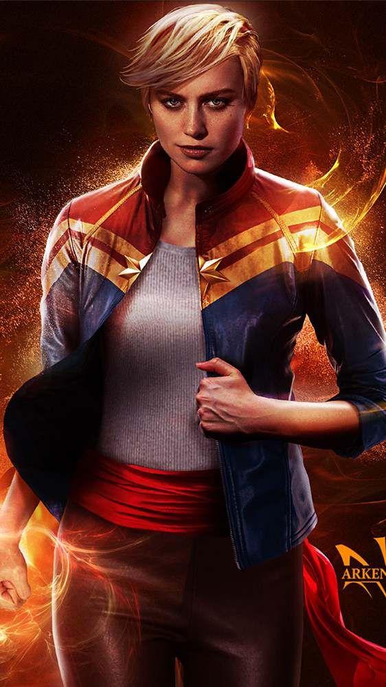 Brie Larson Captain Marvel Movie Wallpaper