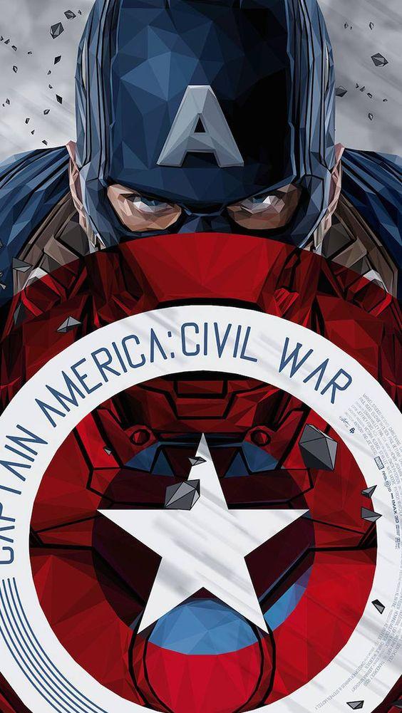 Captain America Civil War Art Wallpaper