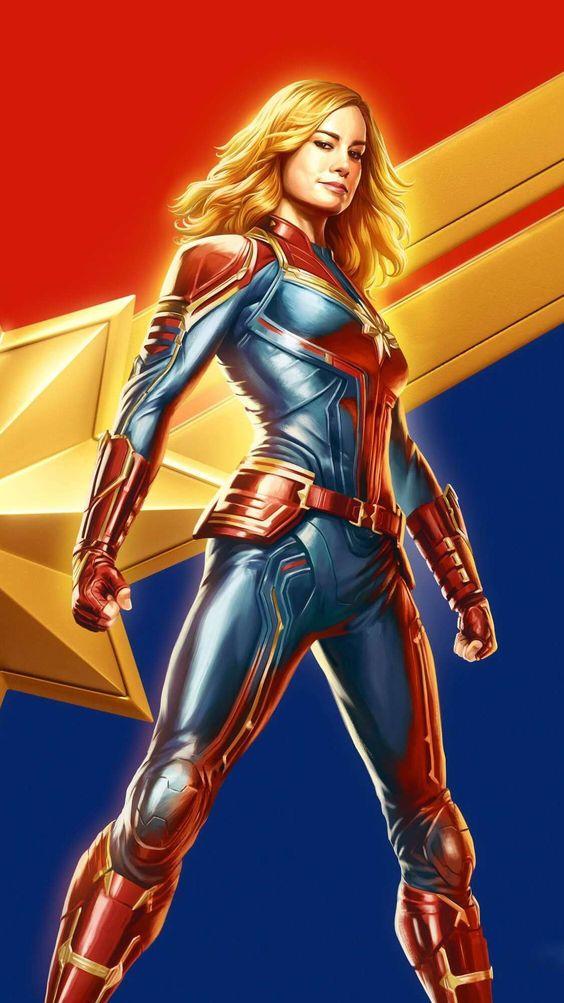 Captain Marvel HD Wallpaper
