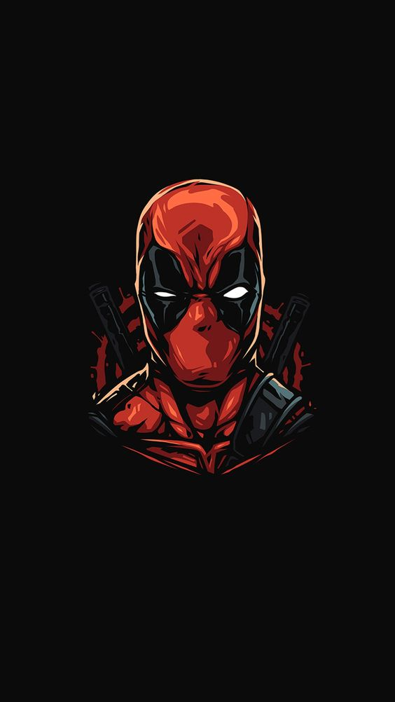 Deadpool Angry Face Wallpaper