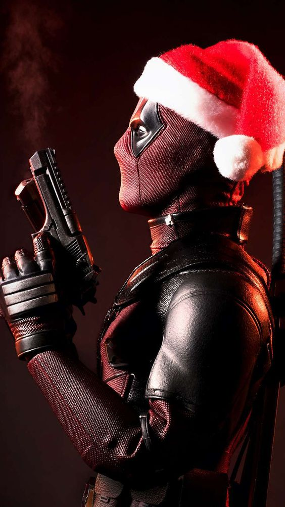 Deadpool Christmas Wallpaper