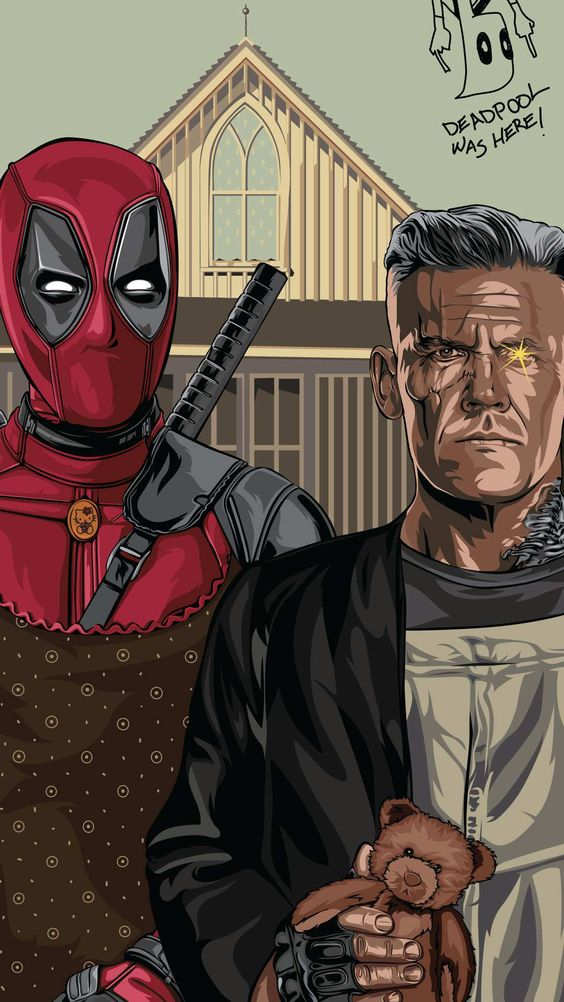 Deadpool and Cable Wallpaper