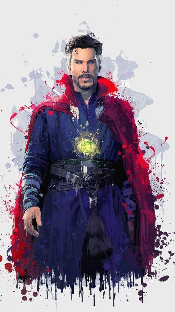 Doctor Strange Paint Artwork Wallpaper