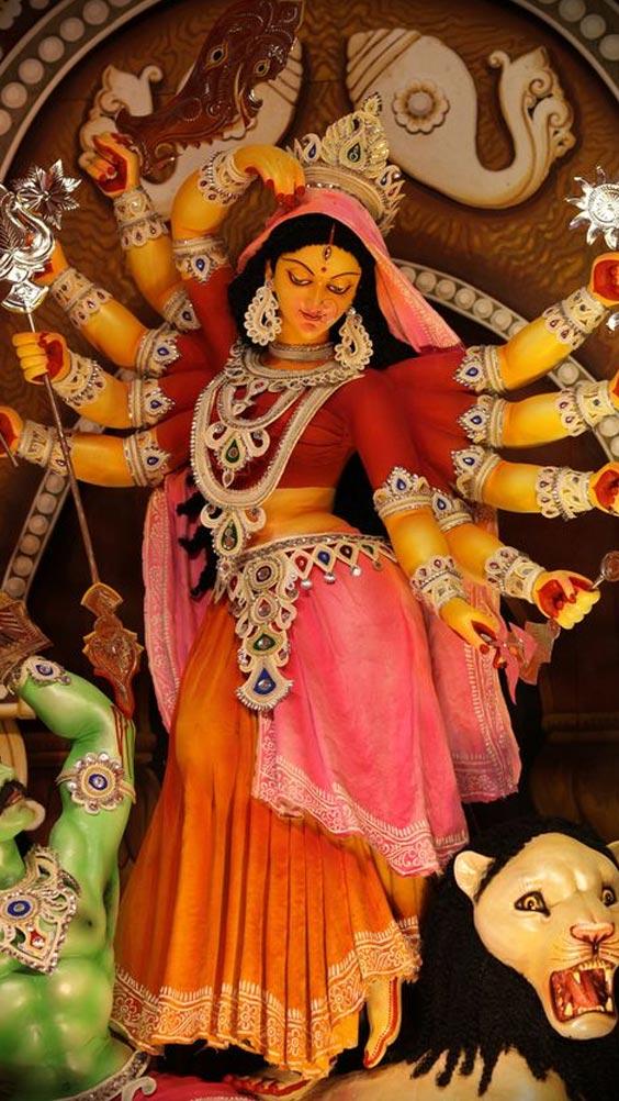 Durga ji Image. Photo of Durga Maa statue.