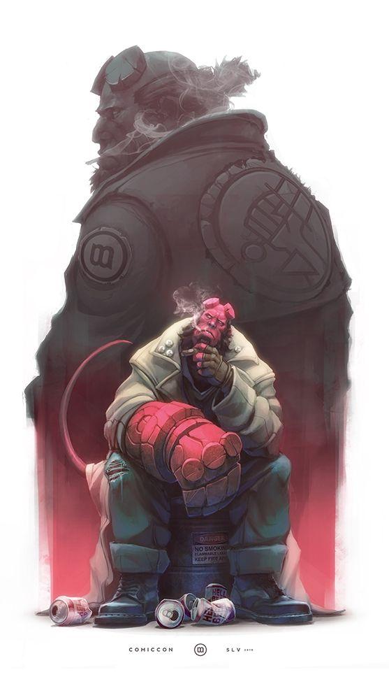 Hellboy Animated Art Wallpaper
