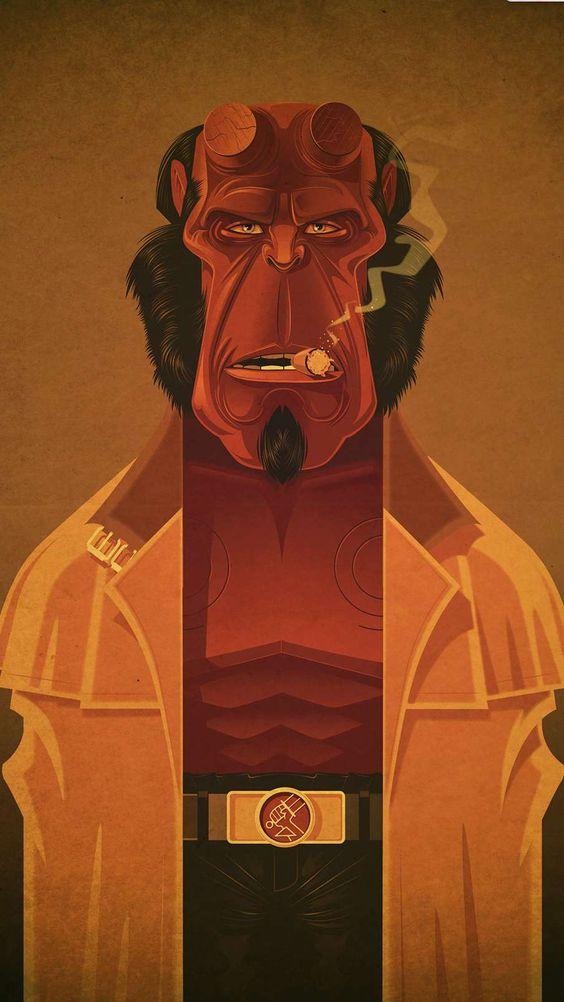Hellboy Art Wallpaper