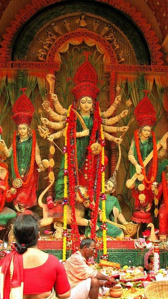 Durga ashtami Images. Photo to Maa Durga.