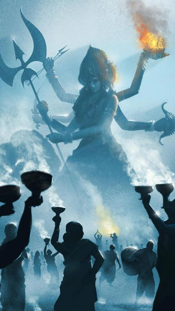 Pic of Durga Maa HD. Image Durga mata HD.