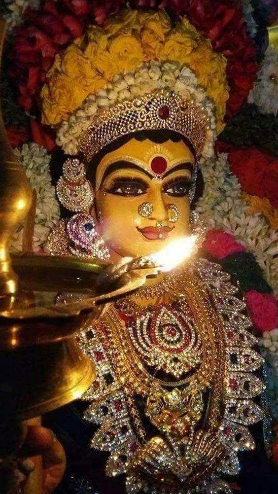 Photo Durga mata ki. Image of Durga Maa Navratri.