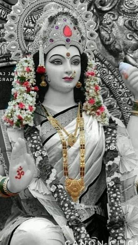 bhakti Photo Durga Maa ka. Image goddess Durga.