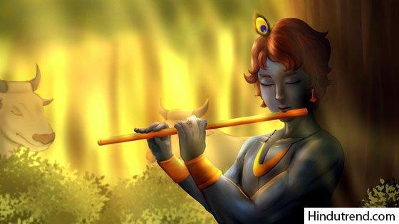 Radha Krishna 4k wallpaper
