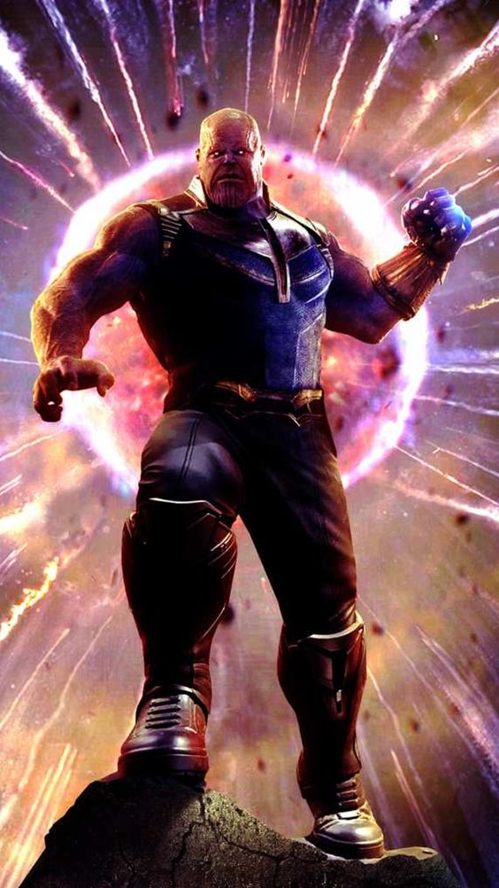 thanos hd wallpaper iphone