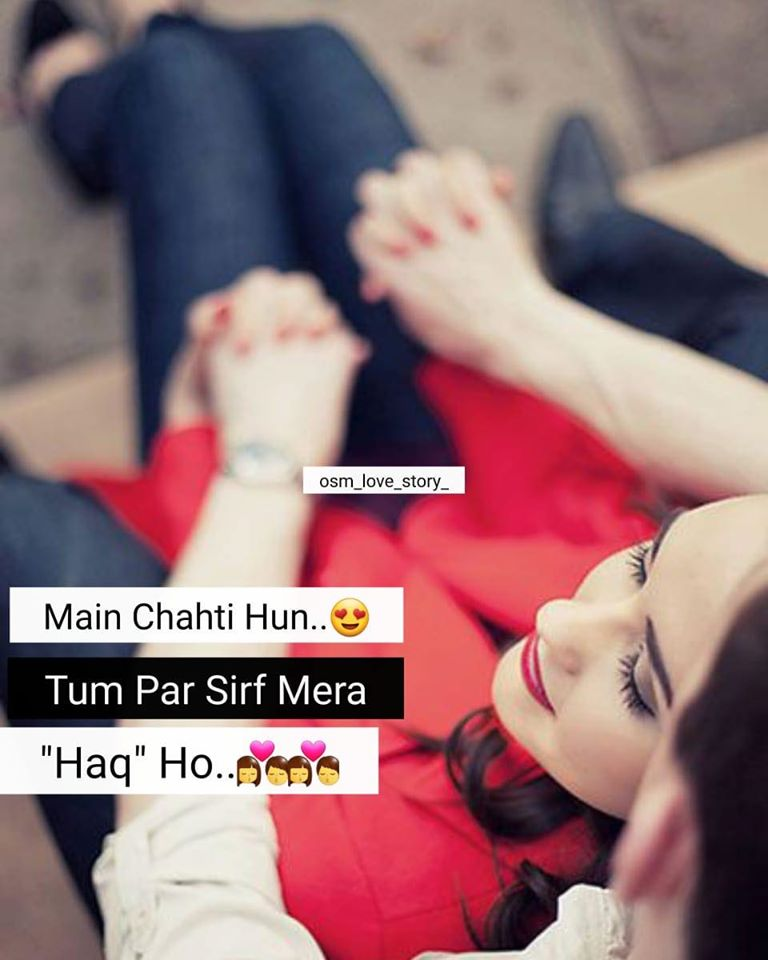 hindi love status for bf