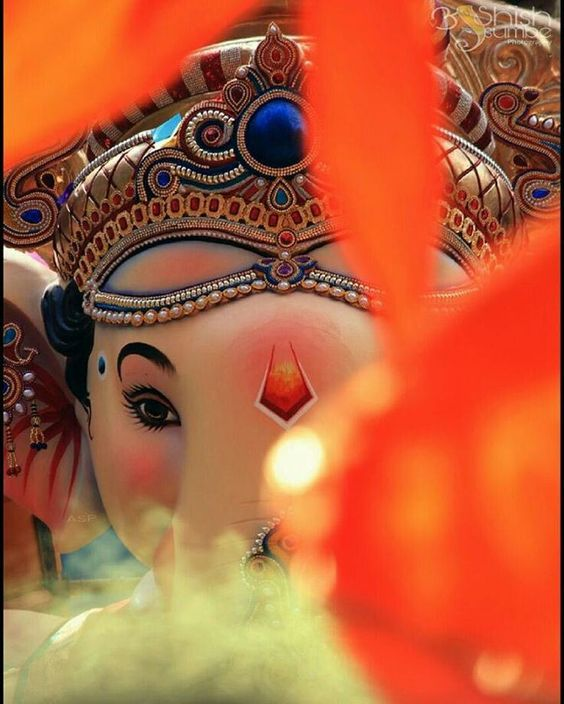 ganesh aarti photo