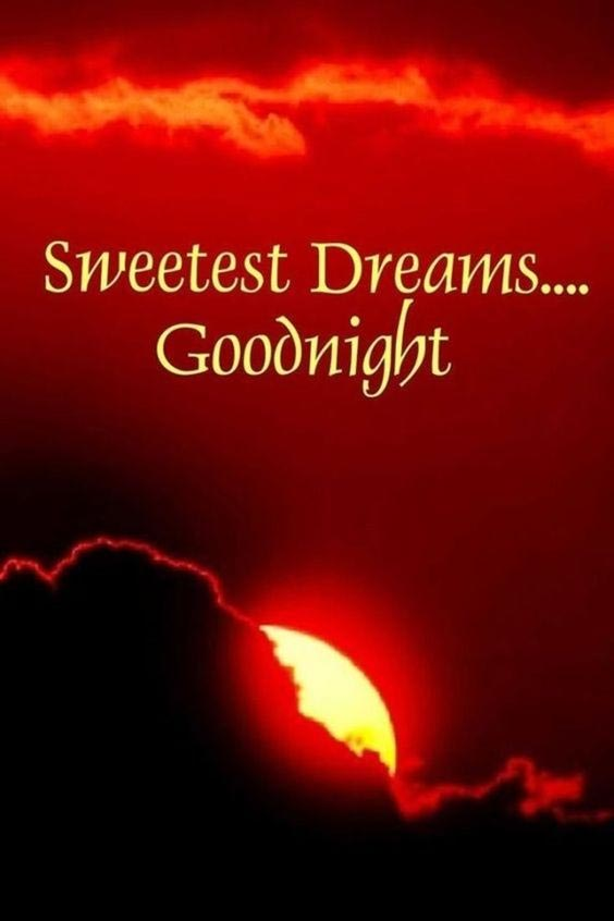 friend good night image