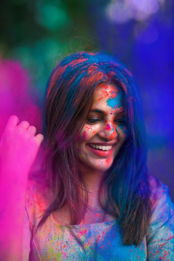 happy holi wishes for girl