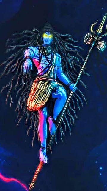 lord shiva images angry