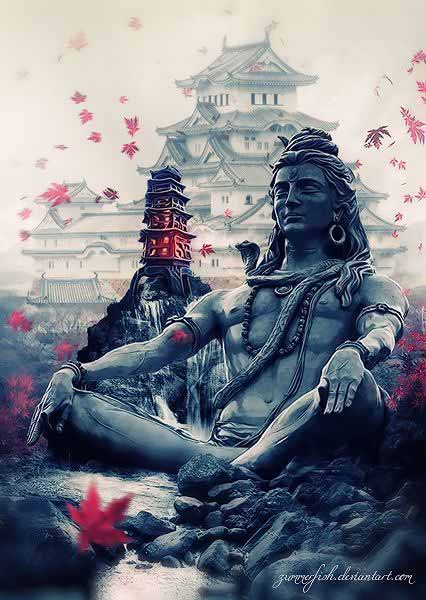 lord shiva images in 3d