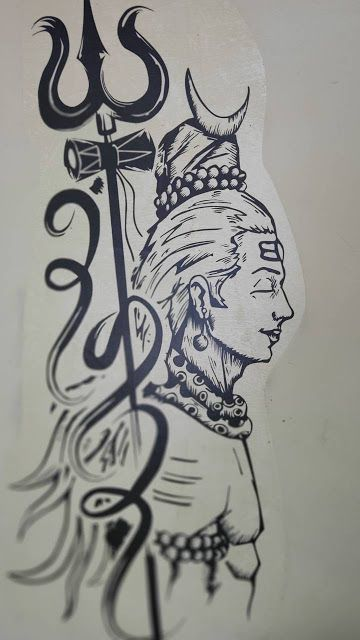 lord shiva images with trisul