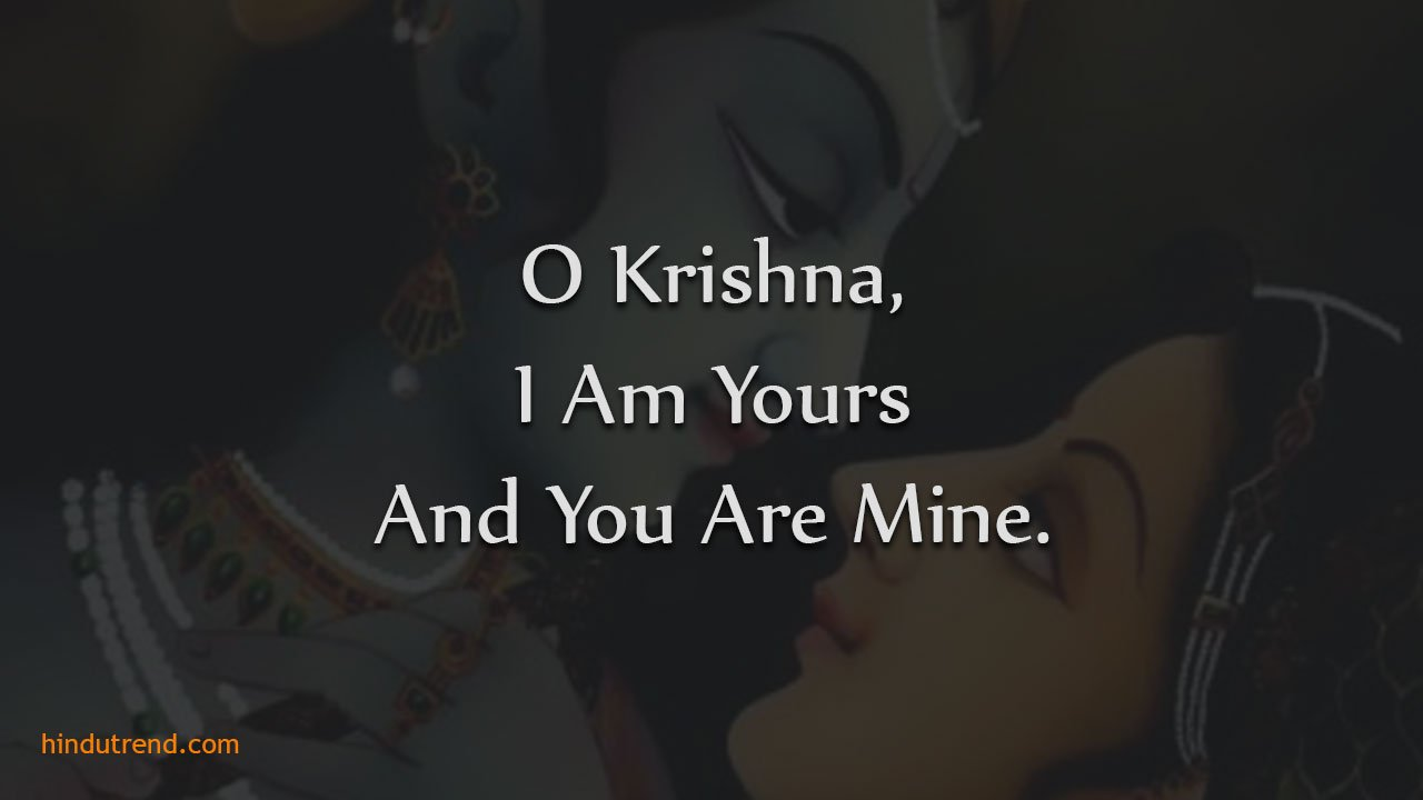 Radha Krishna Love Status In English