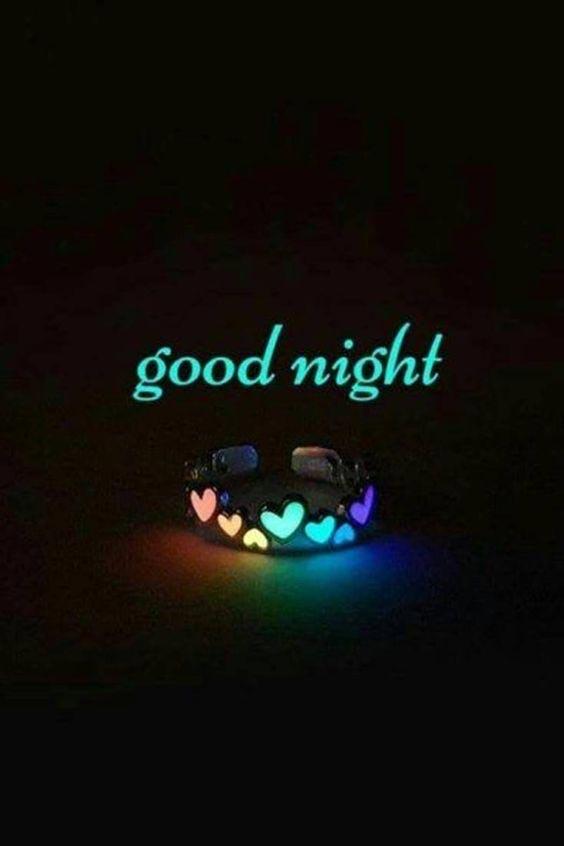 good night image radha krishna
