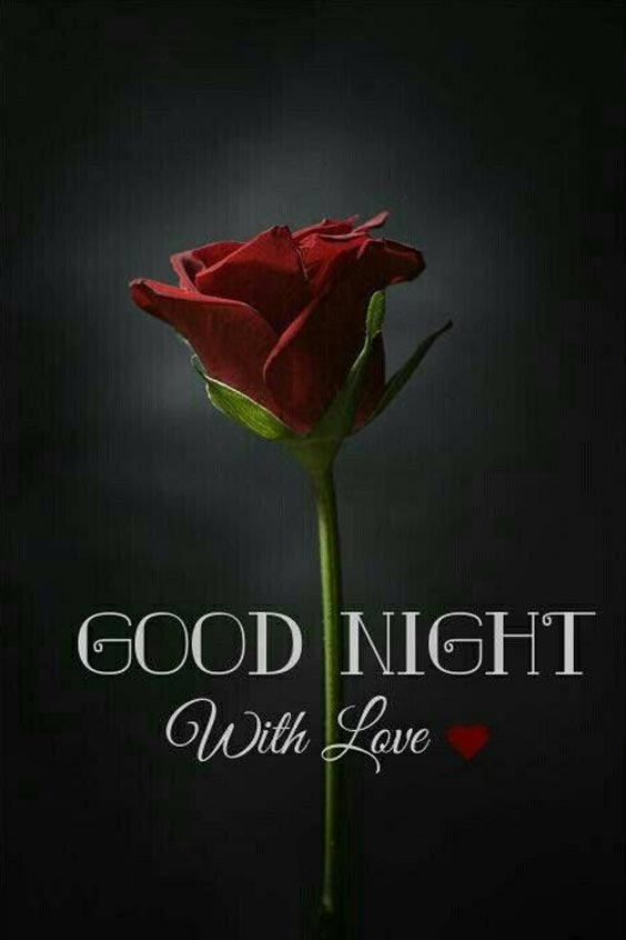 good night image video song