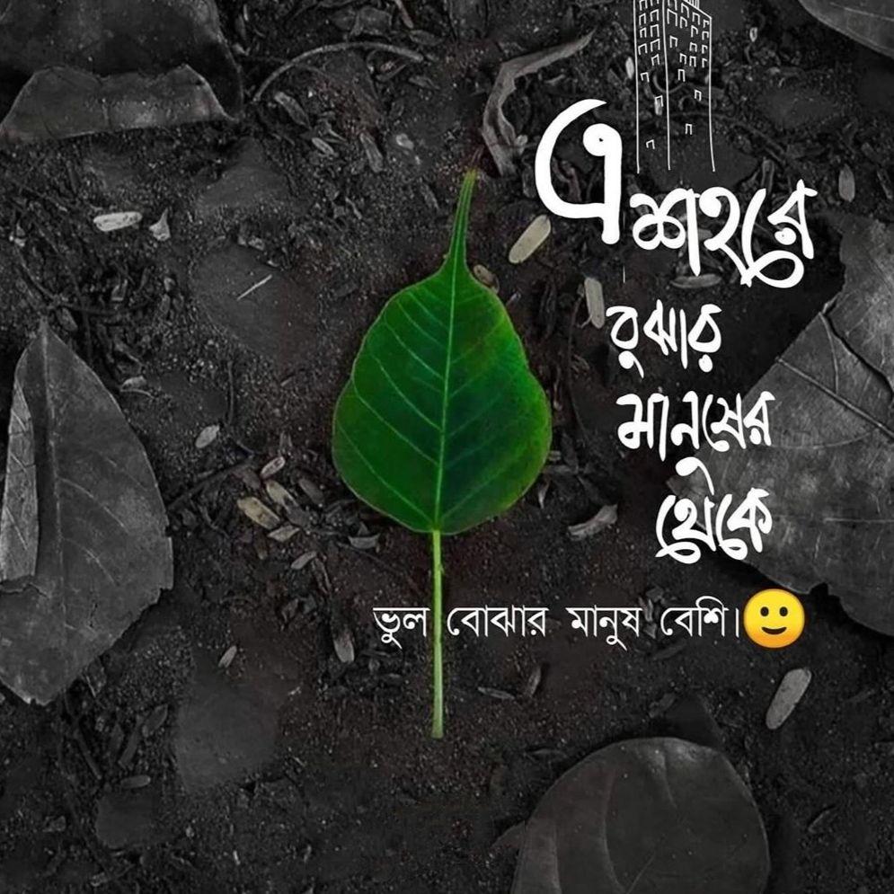 bengali sad status line
